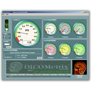 Dicometrix PACS Dashboard