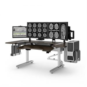 Sit to Stand Radiology Workstation
